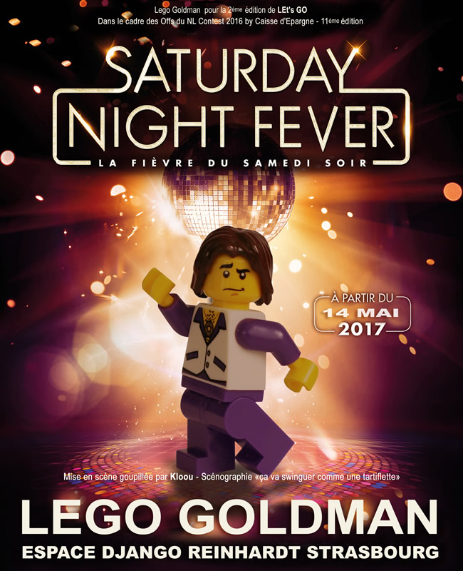 Lego Goldman - Saturday Night Fever